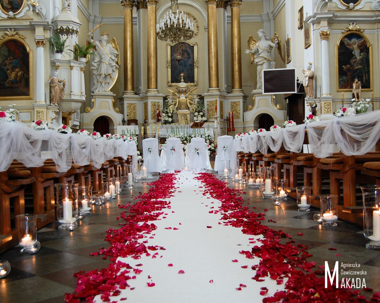 Dekoracja Kościoła Na ślub Kwiaty Na Twój ślub Makada