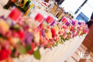 Dekoracja weselna restauracji